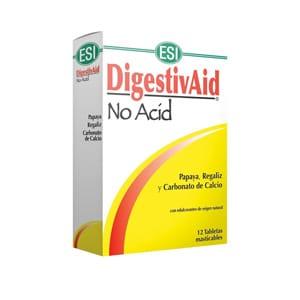 Digestivaid No Acid 12 tabletas