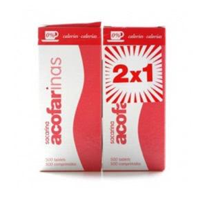 Acofarinas 2x500 comprimidos