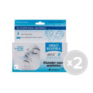 Best Breathe Dilatador Nasal Anatomico Aire Talla Peq 2u