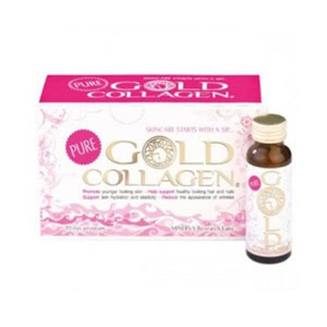 Minerva Gold Collagen 10 frascos x 50ml