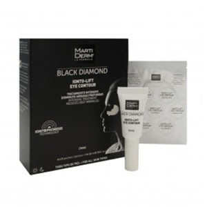 Martiderm® Black Diamond Ionto-Lift contorno de ojos parches + gel