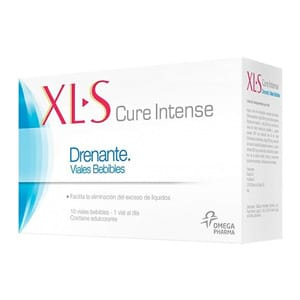 XLS cura intensa drenante 10 viales bebibles
