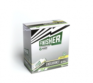 Finisher Endurance gel energético limón 12 sobres 50gr