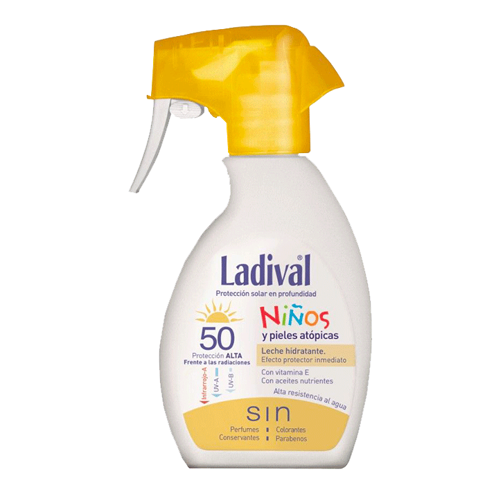 Ladival Niños fotoprotector spray SPF50+ 200ml